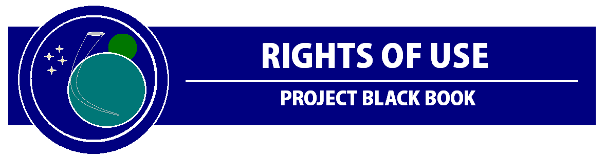 Rights of Use | Project Black Book (by Shannon Eichorn)