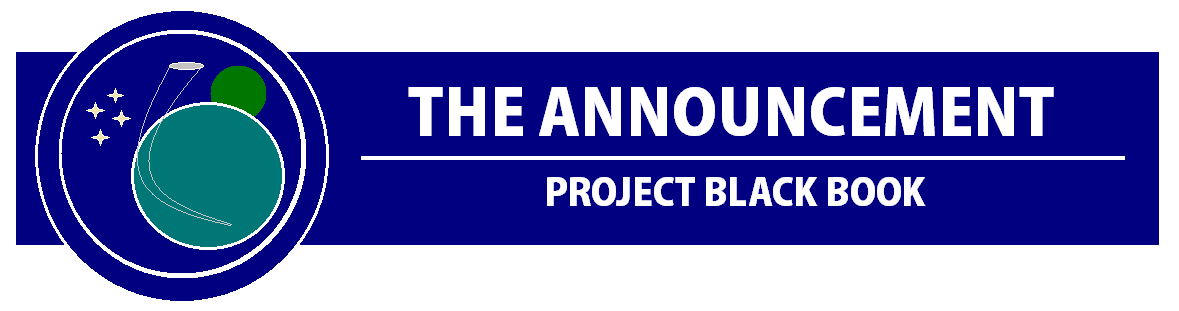 The Announcement | Project Black Book (by Shannon Eichorn)