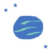 Saturn V flag